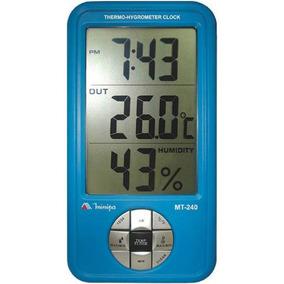 Relógio Termo-higrômetro Digital Mt-240 Minipa