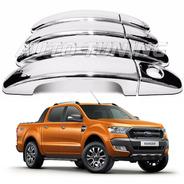 Ranger 4 Cubre Manijas Cromadas  2012 2013 2014 2015 2016 2017 2018 2019