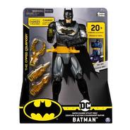 Boneco Articulado Batman Com Som E Lança Armas 2181 Sunny