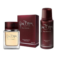Perfume Hombre Gino Bogani Pour Homme Edt 90ml + Desodorante