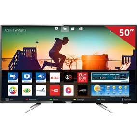 Smart Tv Led 50 50pug6102/78 Philips, 4k Hdmi Usb Com Wi-fi