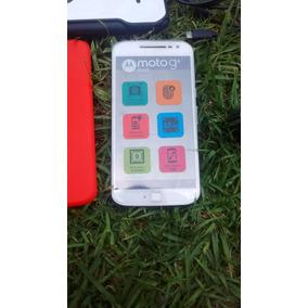 V/c Moto G4 Plus Dual Sim 32gb Blanco Libre Seminuevo