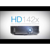 Projetor Optoma Hd142x / Full Hd / 3d / Filmes E Jogos+oculo