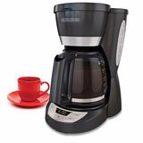 Cafetera Black And Decker Cm1051b 12 Porcillos Auto Apagado