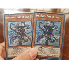 Sage With Eyes Of Blue X2 - Blue Eyes - Yu-gi-oh!