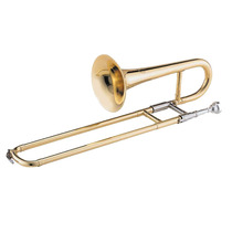 Trompeta A Vara Knight Jbst-1800l - Bb - Laqueada C/ Estuche