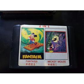 Mega Drive - Mickey Castle Of Illusion + Fantasia / Paralela