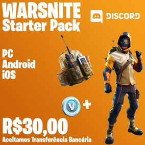 Fortnite - Stater Pack Para Pc, Android E Ios - Warsnite