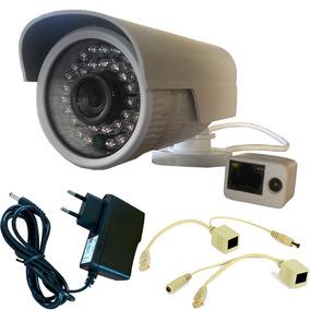 Câmera Ip 1.3mp 720p Onvif Externa Hd + Injetor Poe + Fonte