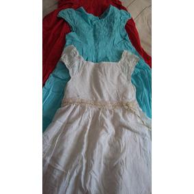 Pack Por 3 Preciosos Vestidos Para Niña!!