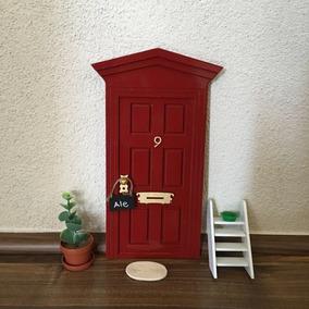 Puerta Magica Raton De Los Dientes Mod. Italiano Rojo