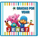 Stickers Personalizados Candy Bar Autoadhesivos Pocoyo Y Mas