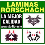 Laminas Test De Rorschach Como Originales Nuevas Con Sobre