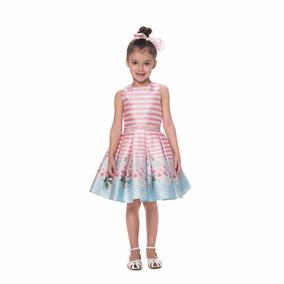 Vestido Infantil Petit Cherie Estampado 10.11.31092