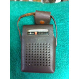 Radio Portatil Antigo Marca Crown - Anos 60