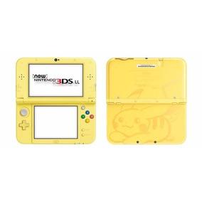 Console Nintendo New 3ds Xl Yellow Pikachu Edition