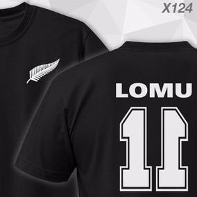 Remeras Jonah Lomu 11 All Blacks Haka New Zealand Nz Rugby