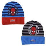 Gorro Tejido Spiderman Invierno - Licencia Original Marvel