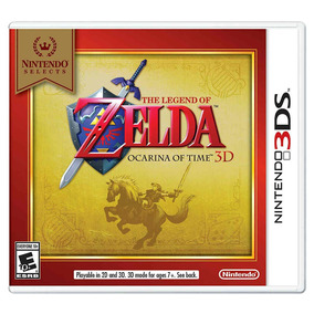 Juego Nintendo 3ds Legend Of Zelda Ocarina Time