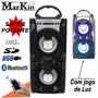Caixa Caixinha Som Portátil 20wats Bluetooth Mp3 Usb Card Fm