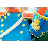 Disfraz Soldado Patrio Granadero Pechera Y Gorro