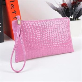 Bolsa Mão Feminina 19 X11 Cm Rosa