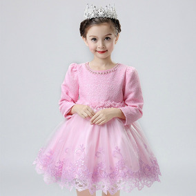 Vestidos De Fiesta Y Bautismo Para Nenas- Importado