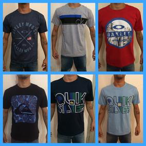 Camisetas Masculinas Oakley, Quiksilver, Ck Entre Outras