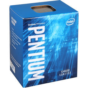 Procesador Intel Pentium G4600, 3.60ghz, 3mb L3, 4 Hilos