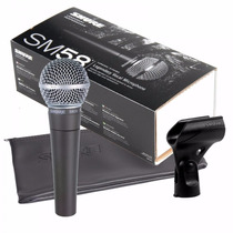Microfone Shure Sm58-lc Vocal - Original - 9571