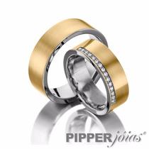 Aliança De Noivado Ou Casamento Pipper Joias