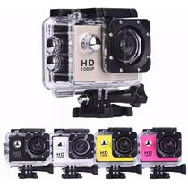 Action Câmera 1080p Moto Capacete Sport Mergulho Acessórios