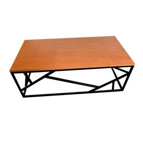 Mesa De Centro Minimalista, Diseño Metalico