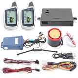Easyguard Em212 2 Way Motorcycle Alarm System With Lcd Pager