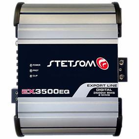 Modulo Potencia Stetsom Ex3500 Ex 3500w Rms 2 Ohms