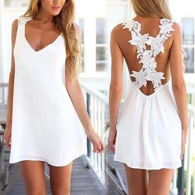 6afa57673 Vestido blanco para playa peru - Vestidos verano