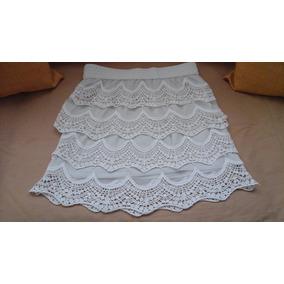 72d65144c Falda Tejida A Crochet Talla U Con Elastica En La Cintura - Ropa ...