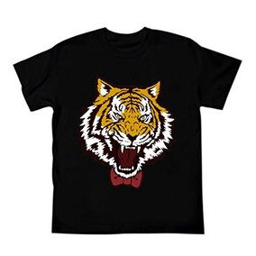 Rolecos Camisa Unisex Tigre Manga Corta Blusa Top Anime Cos