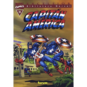 Biblioteca Marvel Excelsior Capitan America 11 Comics Forum