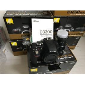 Câmera Nikon D3300 C/ 18-55mm Nova Na Caixa - Envio Imediato