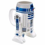 Taza Star Wars R2-d2 Coffee Mug 16oz Sculpted Cup Ceramica 8