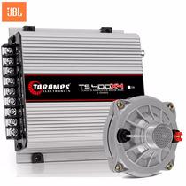 Kit Modulo Taramps + 1 Driver Jbl D250x 100w 8 Ohms Fenólico