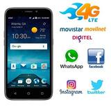 Telefono Zte Maven 3, 5pulg, 5mp + Flash, Android 7.1 Nuevo
