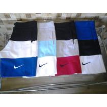 Kit 10 Bermuda Moletom Nike Masculina Varias Marcas Atacado