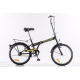 Bicicleta Plegable Rodado 20 Liviana Futura Nuevo Mod 2018