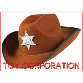 Sombrero De Fieltro Sheriff Cowboy Vaquero Texas Woody West