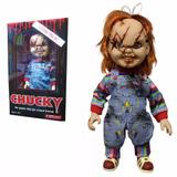 Chucky De 38 Cm Muñeco Con Cuchillo Neca Parlante Con Risa