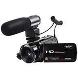 Video Cámara Full Hd 1080p Micrófono Externo Ordro Original