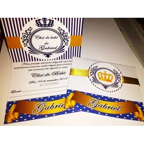 10 Convites Chá De Fralda Ou Bebe Lindos