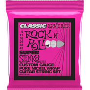Encordoamento P/ Guitarra Ernie Ball 09-42 Classic 2253